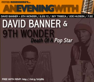 Peter Rosenberg Hosts Q&A w/ David Banner & 9th Wonder