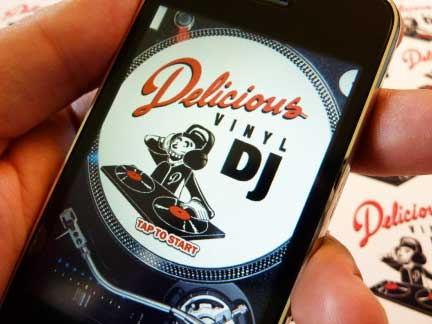 MP3: Delicious Vinyl Releases DJ iPhone App