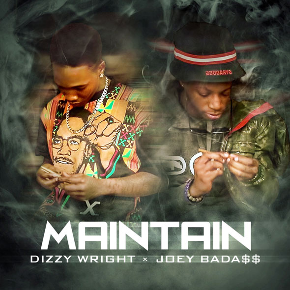 "MP3: Dizzy Wright – ""Maintain"" Ft. Joey Bada$$"