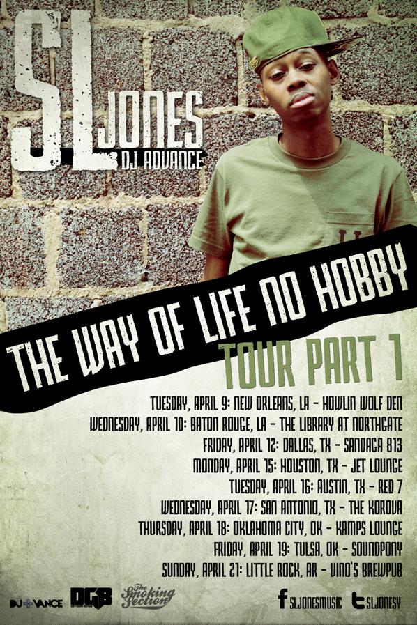 """Video/News: SL Jones – """"Sack Religious"""" + Tour"""