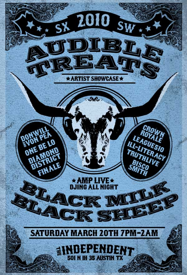 Audible Treats Announces Official SXSW Showcase Lineup