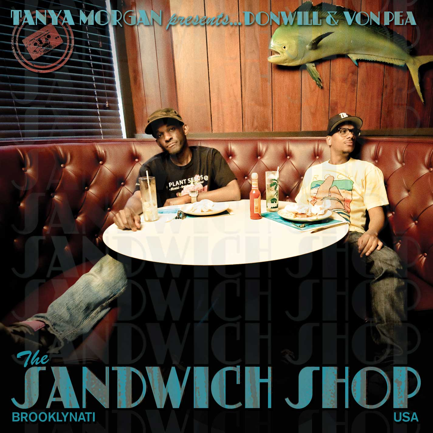 Donwill & Von Pea Releases The Sandwich Shop