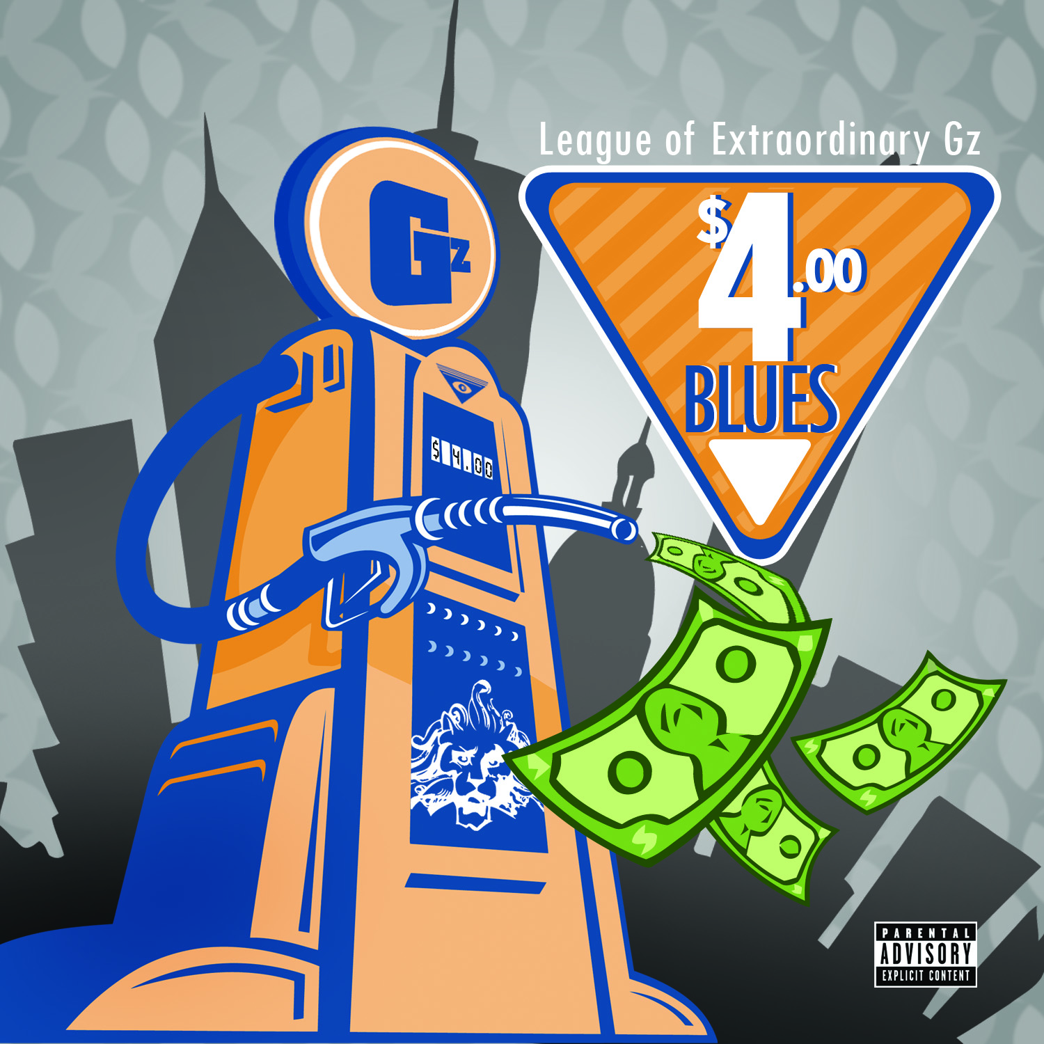 "League Of Extraordinary Gz – ""4$ Blues"""