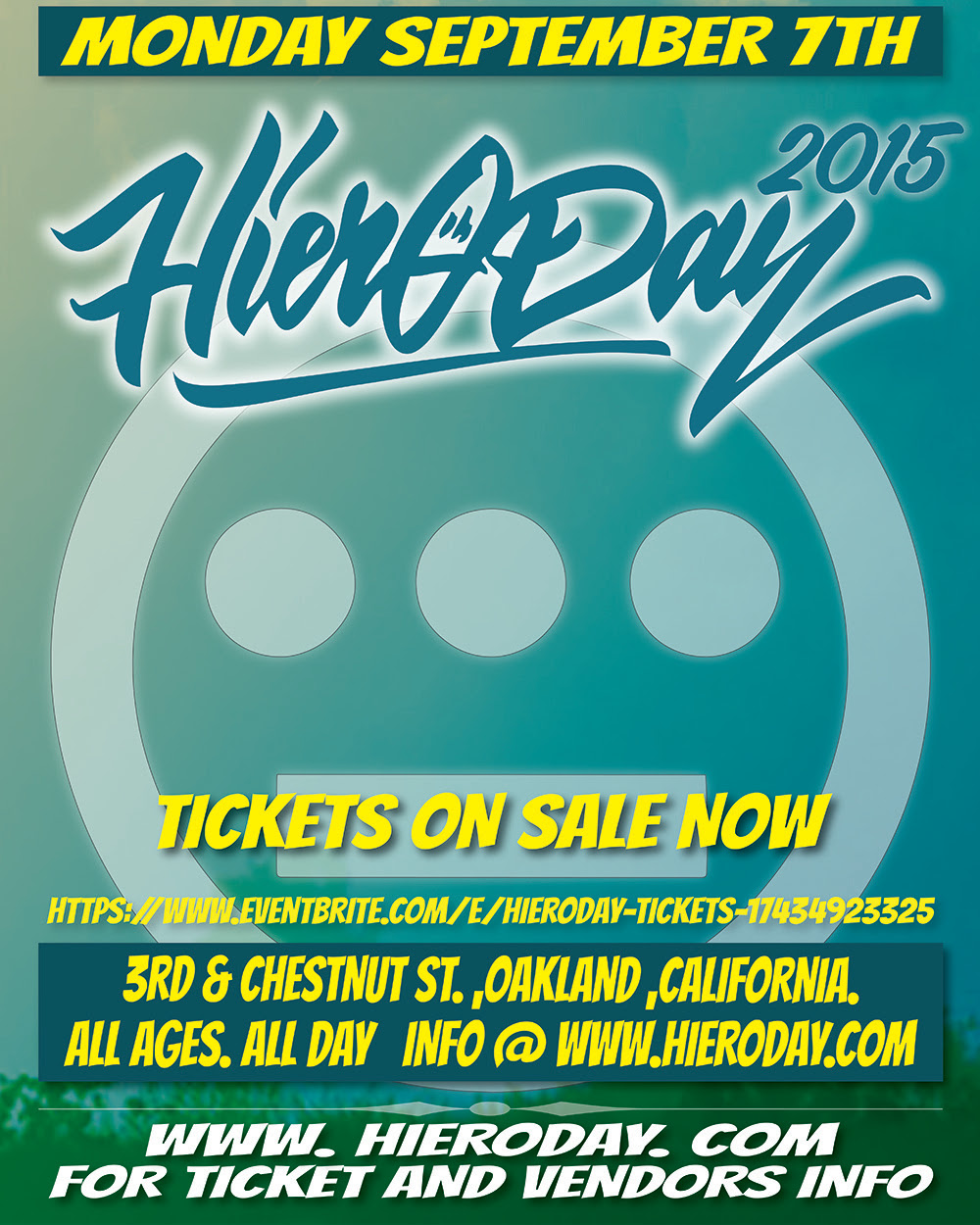 Hiero Day 2015 Flyer