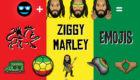 🇯🇲 Rastamojis 🇯🇲: Ziggy Marley, Grammy-Winning Reggae Star, Releases Set of Custom Emojis In Conjunction With Emoji Fame