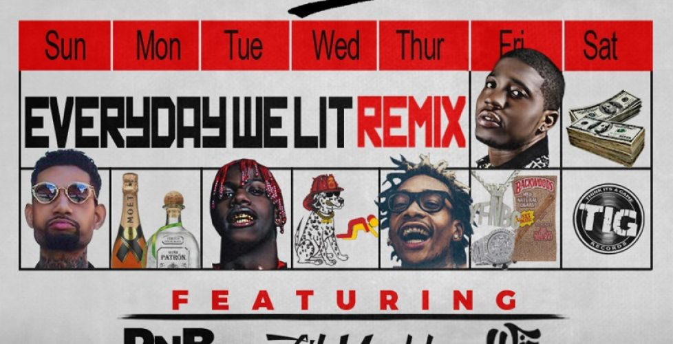 """🔥🚣 Lil Yachty and Wiz Khalifa Hop On the """"Everyday We Lit"""" Remix with YFN Lucci and PNB Rock, Premiered by Complex 🚣🔥"""