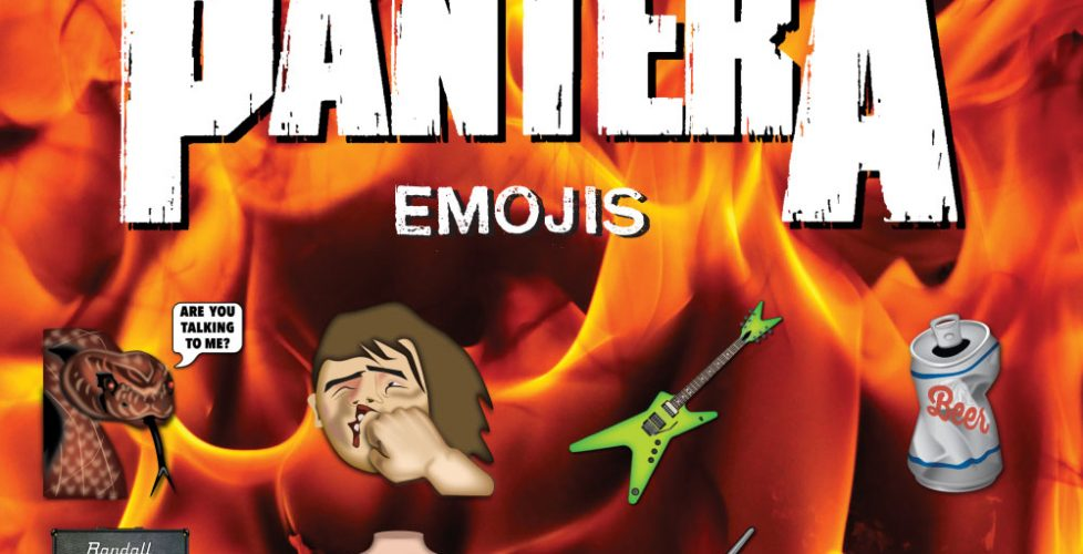 Are You Talkin' to Me? Pantera and Emoji Fame Connect for Emojis From Hell