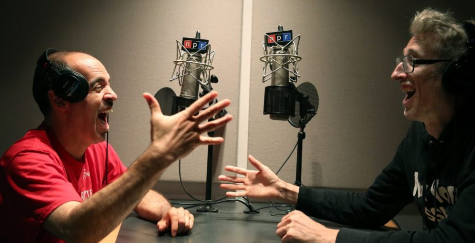 NPR's latest podcast reunites legendary hip-hop radio duo Stretch and Bobbito.