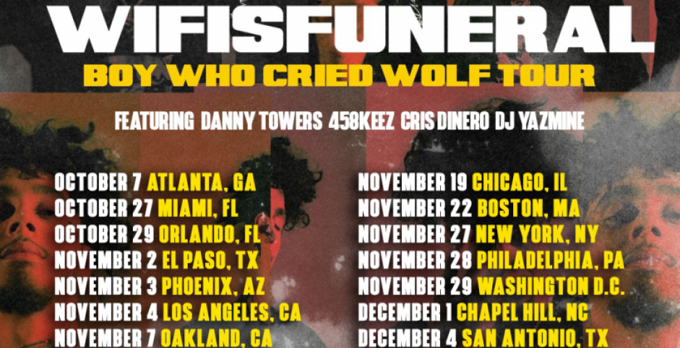 Tour: wifisfuneral – Boy Who Cried Wolf Tour