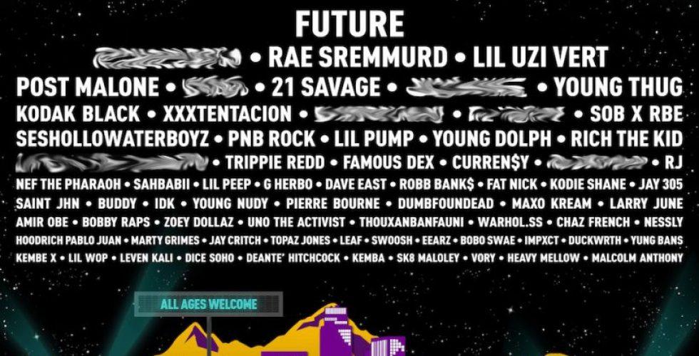 Future, Rae Sremmurd, Lil Uzi Vert to Headline Rolling Loud's Southern California Installment in December