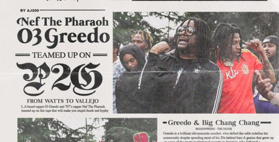 Nef The Pharaoh & 03 Greedo Announce Porter2Grape Collab EP, Recruit ALLBLACK for Lead Single
